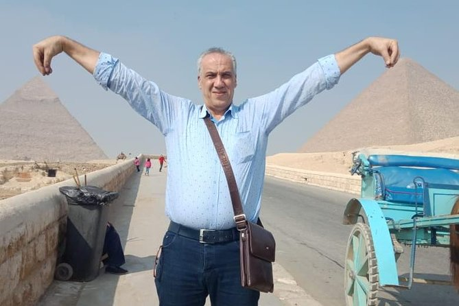 7 hours to Great Pyramids,Sphinx & Egyptian Museum antique with tour guided