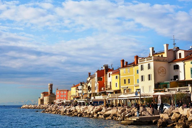Piran & Panoramic Slovenian Coast from Trieste