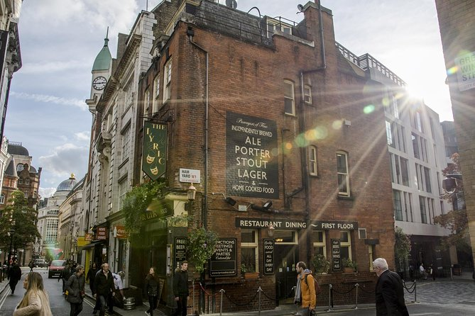 London Soho District Guided Walking Tour - Semi-Private 8ppl Max