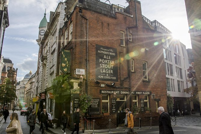 London Soho District Guided Walking Tour - Private Tour