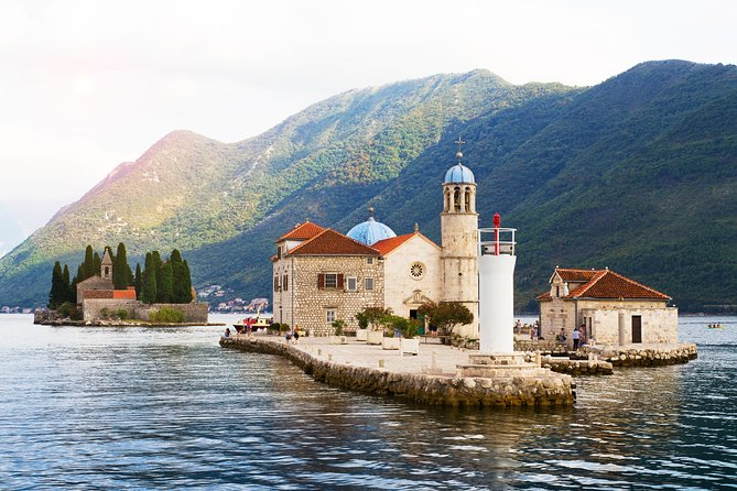 Perast - Our Lady of the Rocks island - Kotor