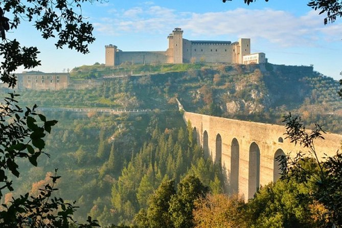 Small Group Tour: Cascia And Spoleto, A Journey Through Time In Umbria