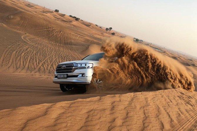 DXB Red Dune Desert Safari, Sand Boarding, Camel Ride, Live Shows, BBQ Dinner