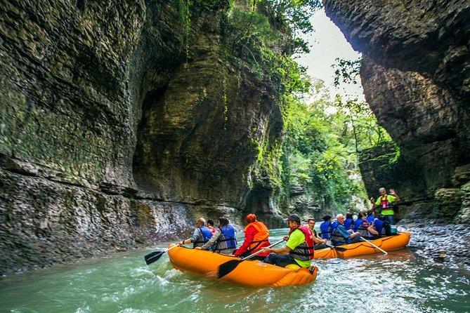 ツ ✌ Martvili Tour - Natural Wonders! Martvili Canyons, Prometheus Caves