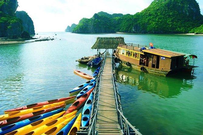 Overnight Cruise Lan Ha Bay - Ha Long Bay Cruise with Kayaking, Swimming,...