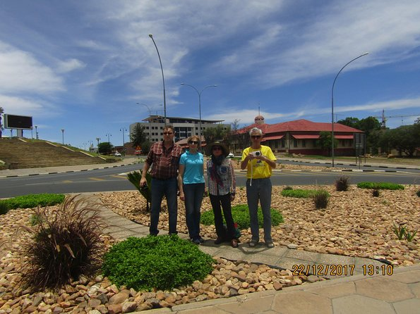 Windhoek CBD CITY Walking Tour