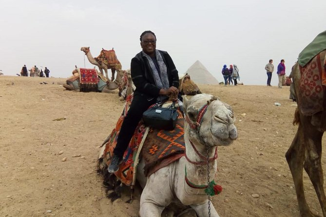 Camel Ride around Giza Pyramids from cairo and giza hotels photo 4
