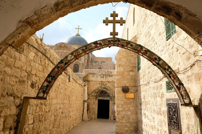 Jerusalem Half Day Tour: Holy Sepulchre and Western Wall