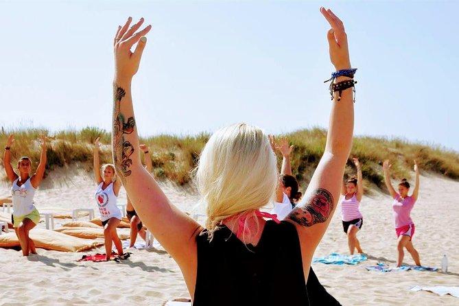 Costa da Caparica Surf and Yoga from Lisbon