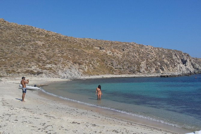 All Included Mykonos South-Coast Beaches, Rhenia and Delos Islands