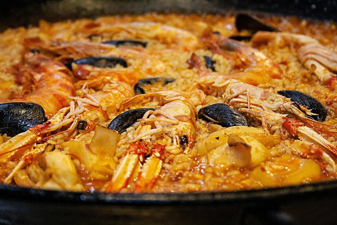 Seafood Paella Cooking Class