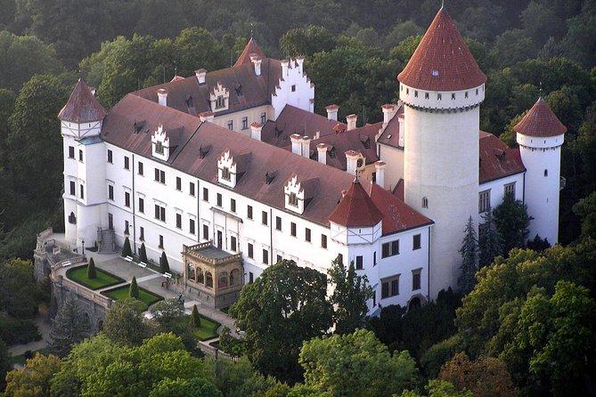 Konopiste castle and Cesky Sternberk castle tour