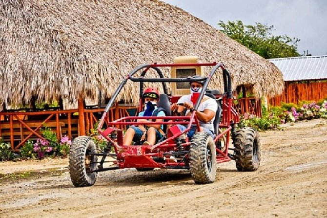 Dune Buggie double with Cave & Beach from Punta Cana (Half Day)