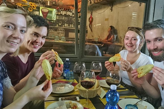 Florence Food Tour with Farmers Market Visit City Sightseeing and Wine Tasting