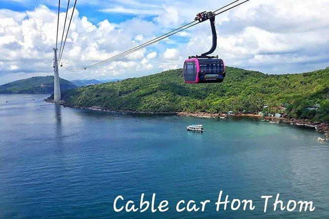 Cable Car Trip: Cable car & 3 island Trip Phu Quoc