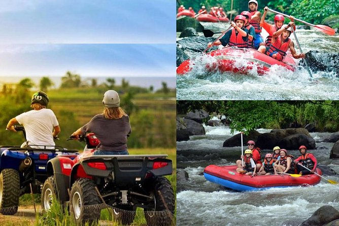 Full Day : Bali Quad Bike and White Water Rafting