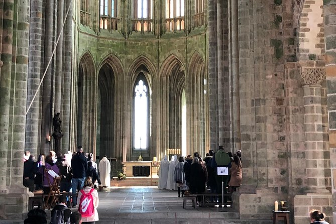 Mass at the Abbey of the Mont Saint-Michel (day trip from PARIS)