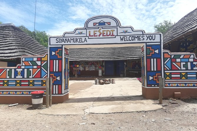Private Lesedi Cultural Village Tour from Johannesburg R933