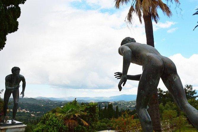 Achilleon, Kanoni, and Corfu Town Tour