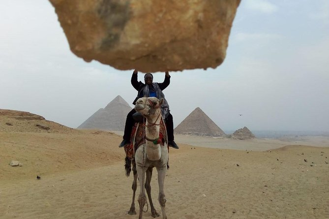 Camel Ride around Giza Pyramids from cairo and giza hotels photo 8