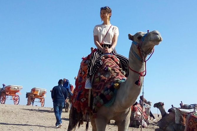 Camel Ride around Giza Pyramids from cairo and giza hotels photo 3