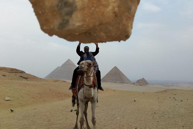 Camel Ride around Giza Pyramids from cairo and giza hotels photo 2