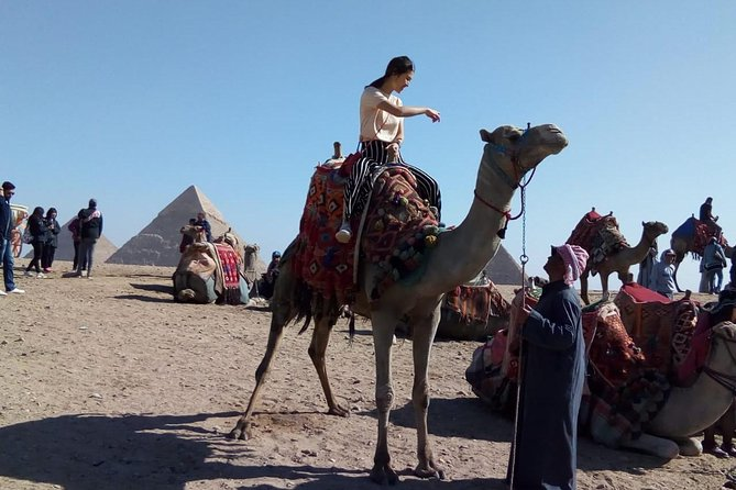 Camel Ride around Giza Pyramids from cairo and giza hotels photo 7