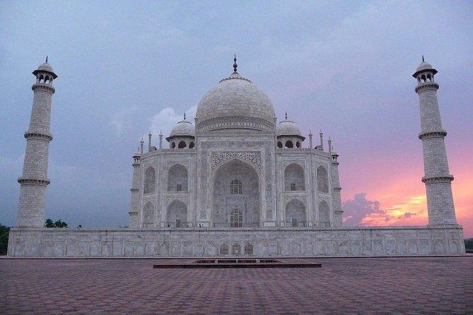 Taj Mahal at Sunrise and Agra Day Tour from Delhi