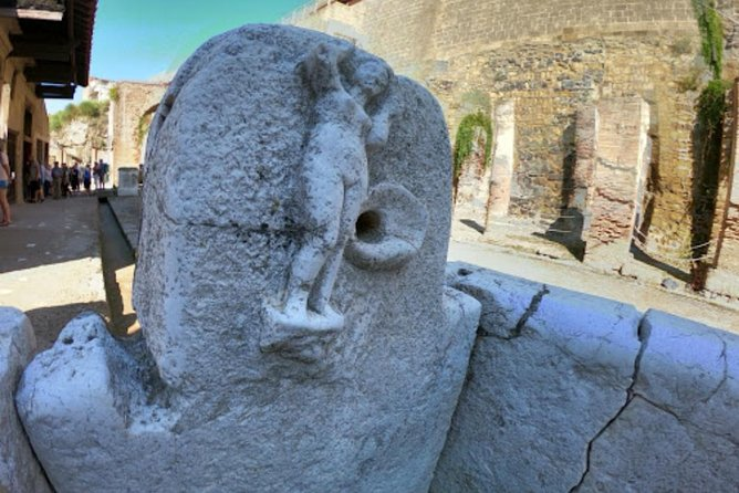 Visit to the archaeological park of Herculaneum