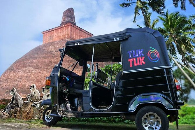 Anuradhapura Ancient City tuk tuk tour