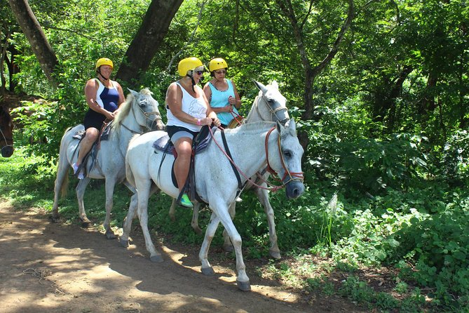 Mega Combo tour: Tubing,Canopy,Horseback ride & Hot Spring from Playa Flamingo