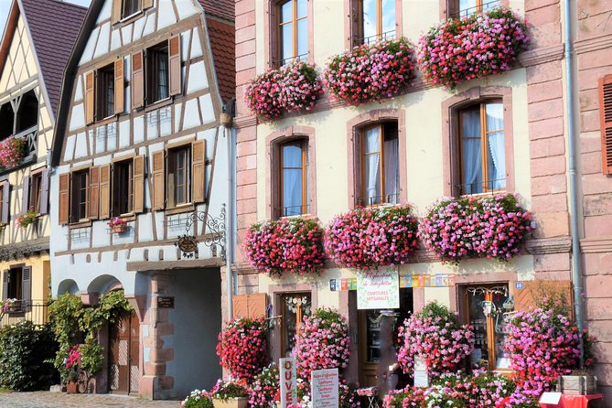 From Colmar: The most beautiful spots on the wine road of Alsace!