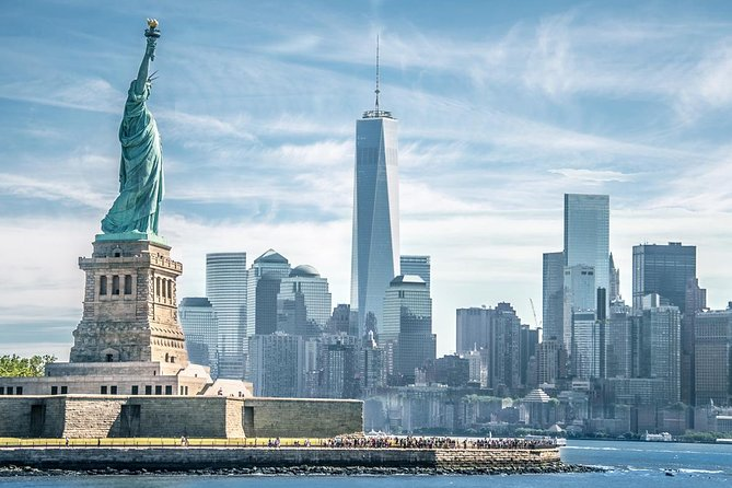 New York City Sightseeing Tour (with Statue Liberty Cruise)
