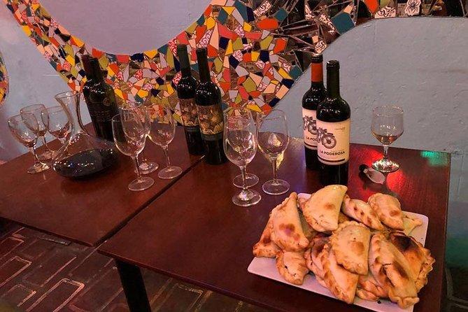 Tango lesson and wine tasting