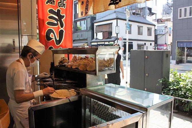Taiyaki (fish-shaped cake) shop, Ningyo-cho