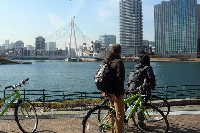Tokyo bike tour: Imperial Palace and Waterfront (24km, 6 hours, English-guided)