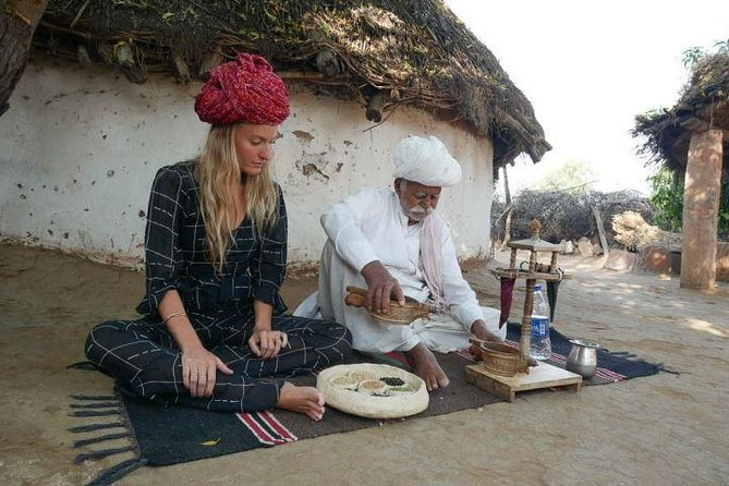 Private Tour of Bishnoi Villages with Desert Safari