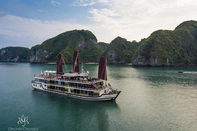 Halong Bay 2Day 1Night Overnight on Orchid Cruise 5 Star