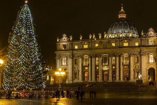 Christmas Eve Dinner and Mass at St Peter's Basilica