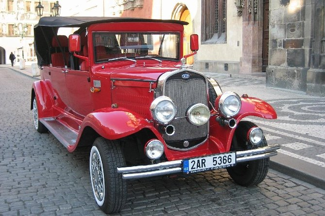 Small-Group Prague Sightseeing Tour by Vintage Car