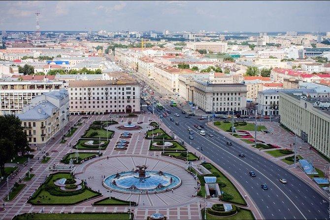 Paseo a pie por Minsk