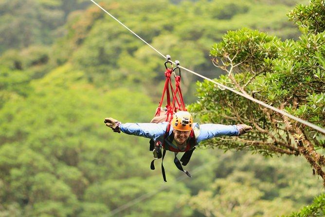Monteverde Extreme Package 2 IN 1(Zip Lines,Tarzan Superman and Hanging Bridges)