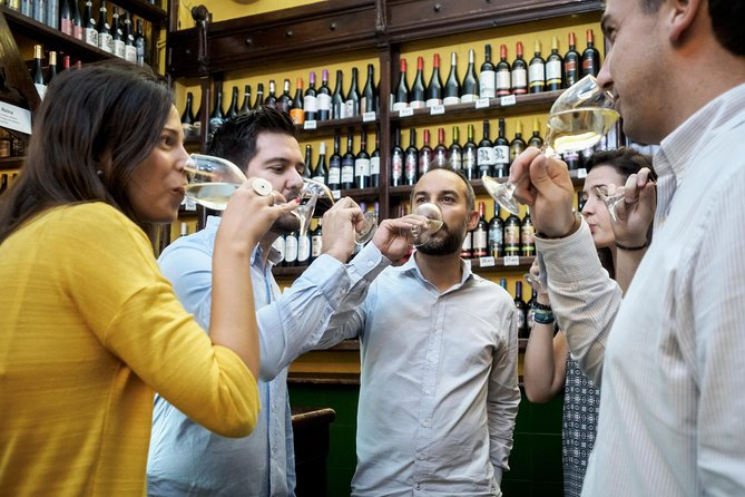 Wine Tasting and Tapas in the ancient Town of Zaragoza