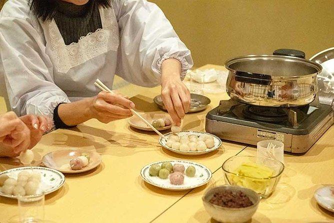 Organic Dango Sweets Making Class at Temple in Kitakyushu
