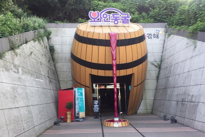 Rail biking and Wine tunnel with Busan Airport Transfer