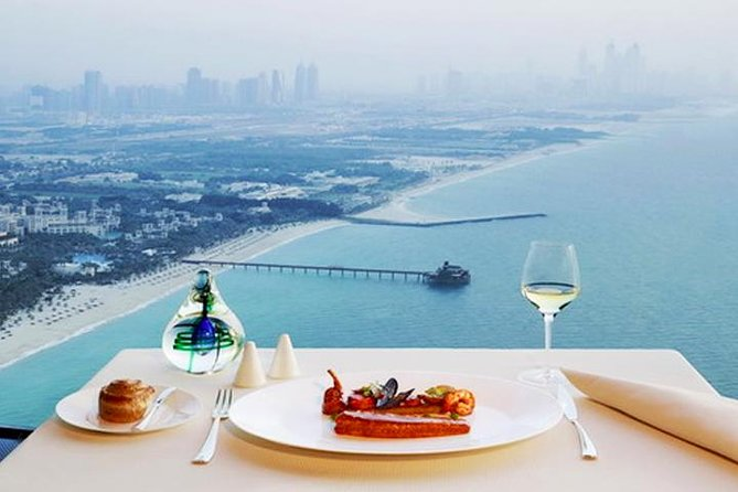 Lunch in Al Muntaha Restaurant - Burj Al Arab