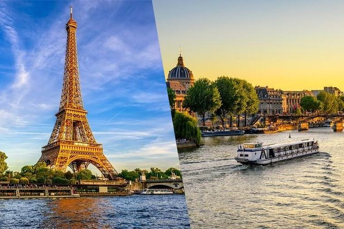 Eiffel Tower Skip the Line 2nd Level Access & Seine River Cruise
