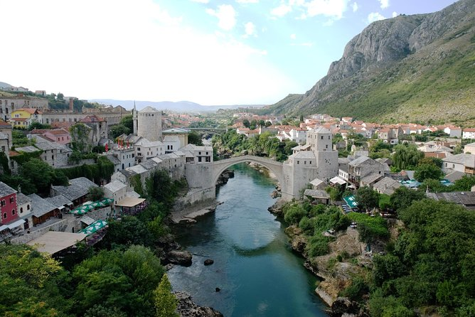 Split to Dubrovnik via Mostar private transfer