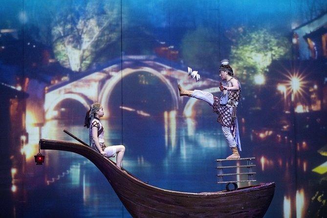 Circo Mundial de Xangai: Show de Acrobacias Cruzamento do Tempo ERA