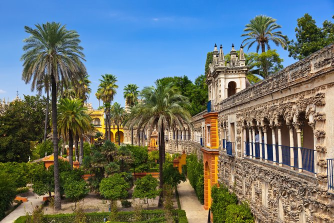 Full Tour with tickets in Alcazar of Seville (Priority Access)